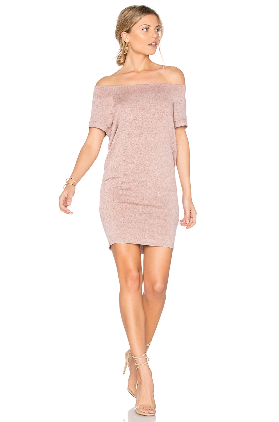 Dwight Off Shoulder Tunic Dress by Riller & Fount