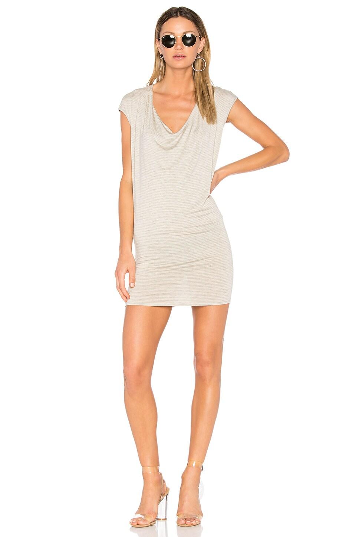Waylon Drape Front Mini Dress by Riller & Fount