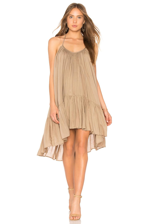 RILLER & FOUNT Nena Dress in Taupe