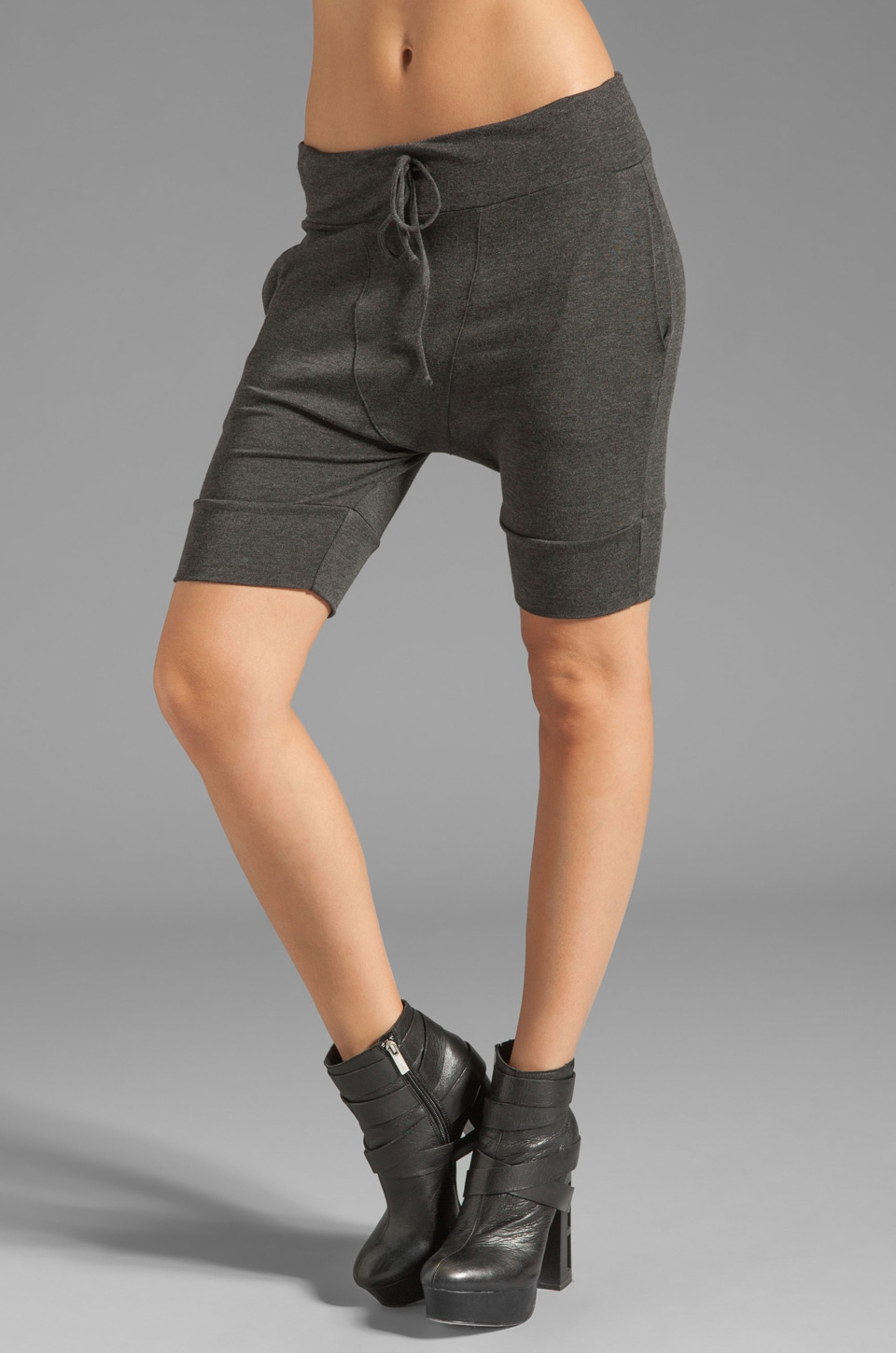 Riller & Fount Ines Jersey Lounge Shorts in Stud