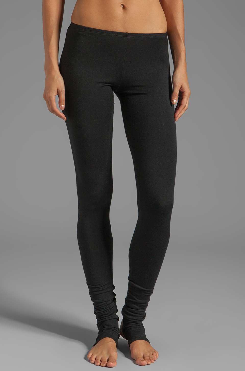 Riller & Fount Cole Stirrup Legging in Black