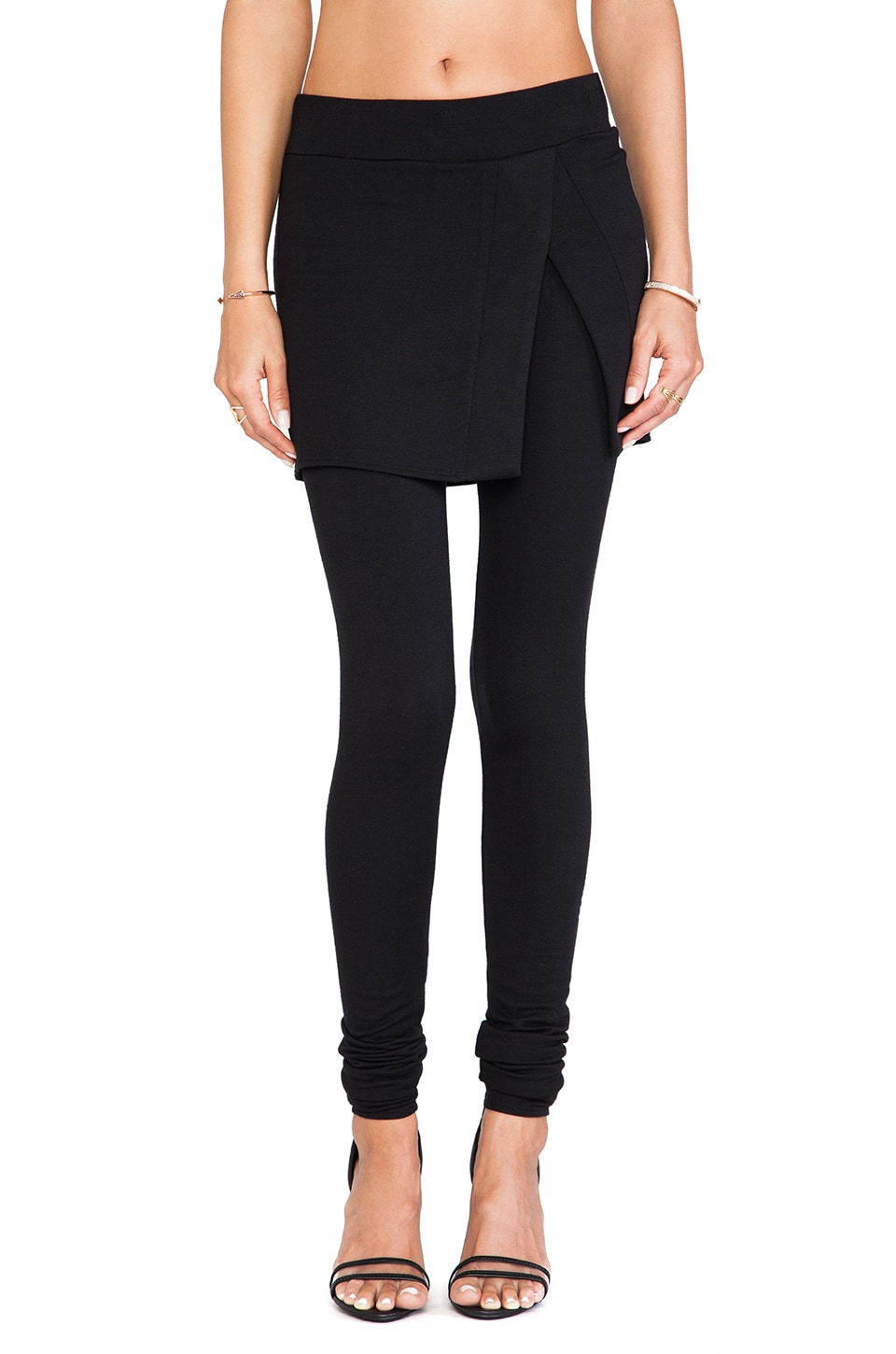 Riller & Fount Brigitte Long Legging in Black