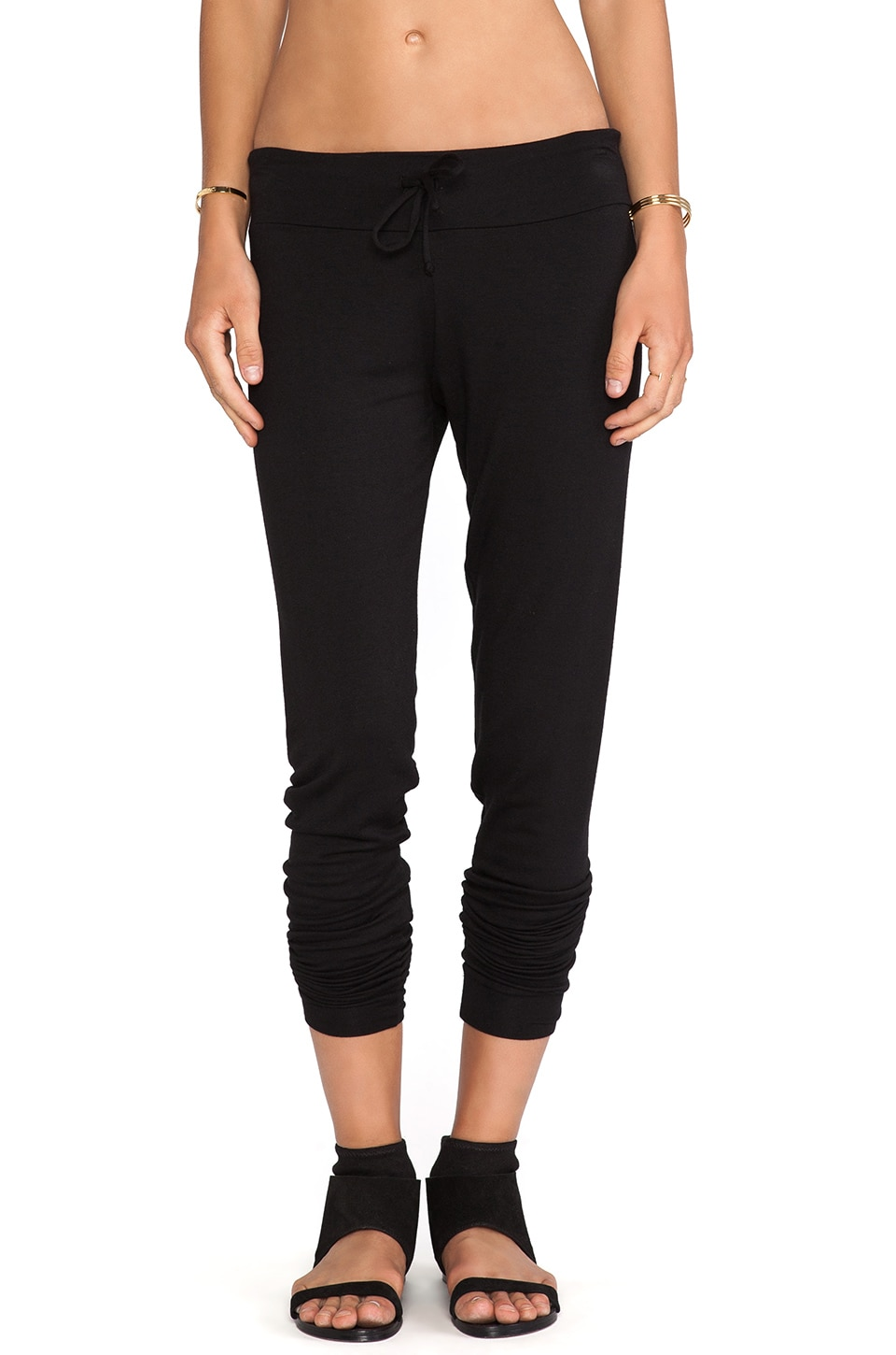 Riller & Fount Felicity Jogging Pant in Black