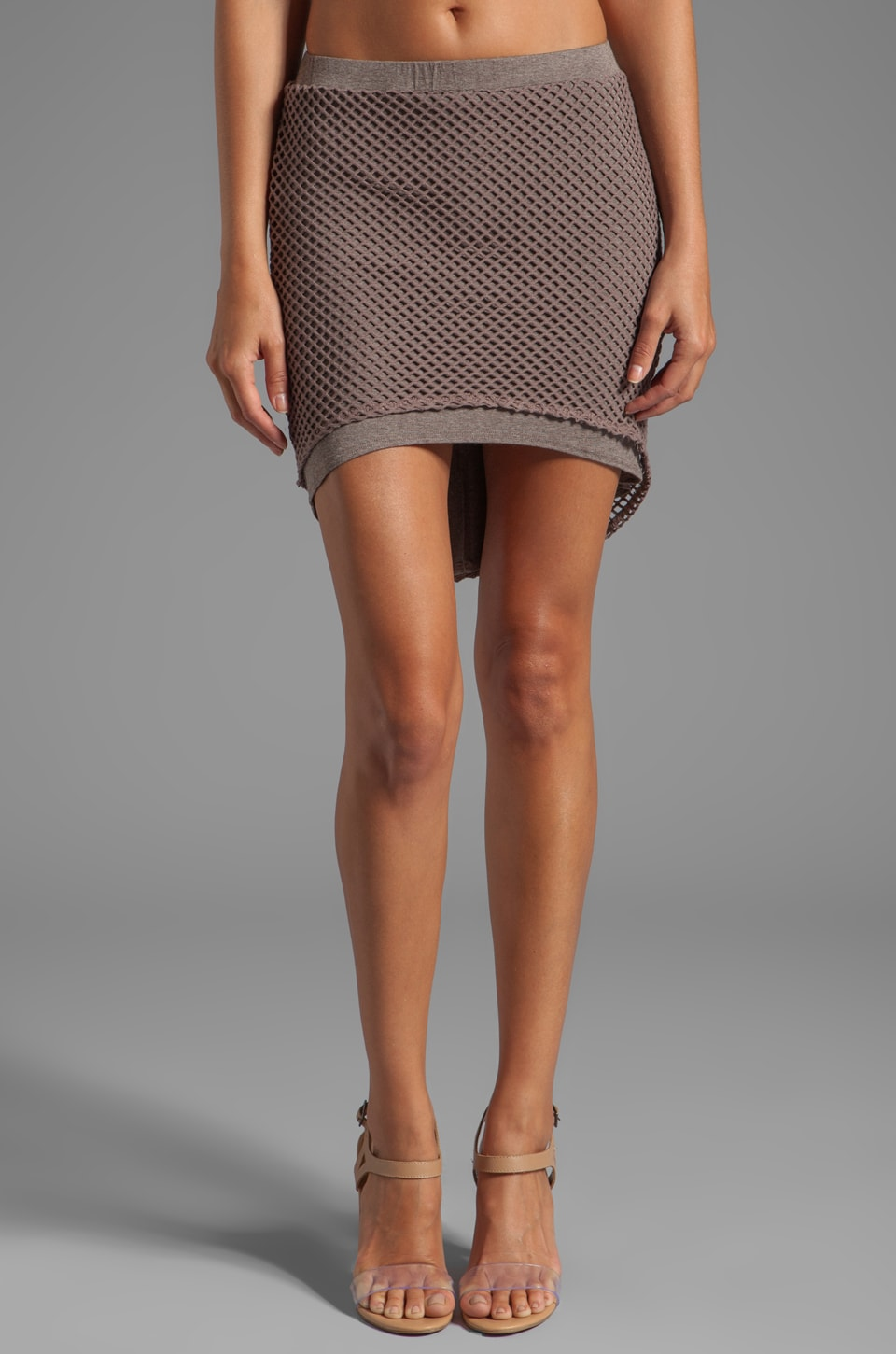 Riller & Fount Lucas Fishnet Skirt in Grantham