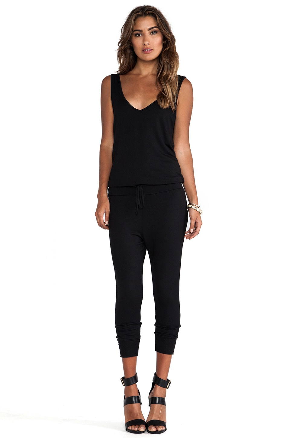 Riller & Fount Junior Romper in Black