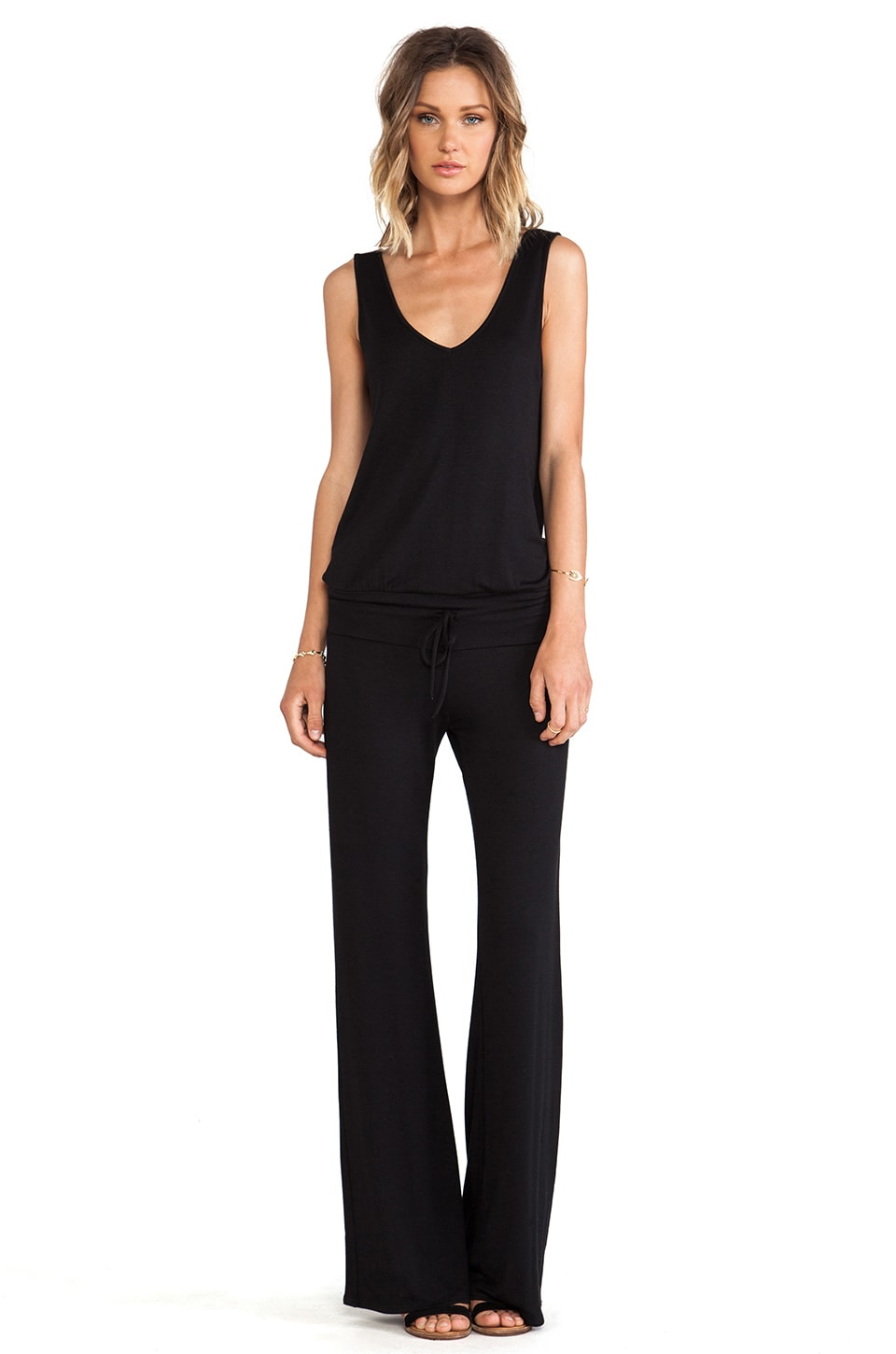 Riller & Fount Vivienne Jumpsuit in Black