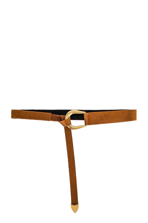 Raina Sheila Wrap Belt in Wink Camel