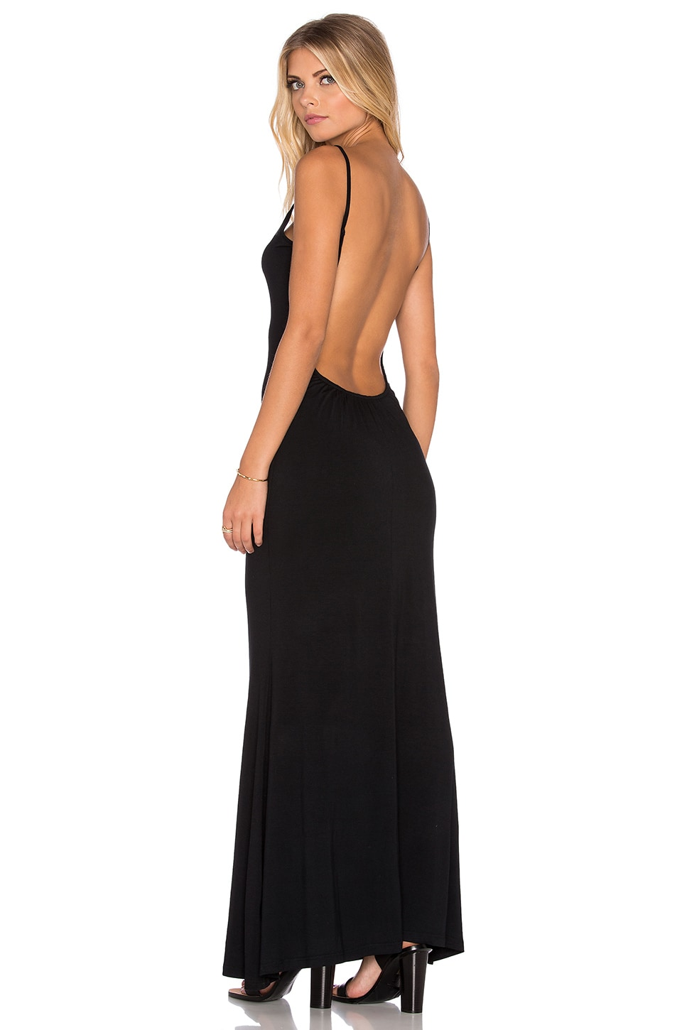 RISE Take Me Backless Dress in Black