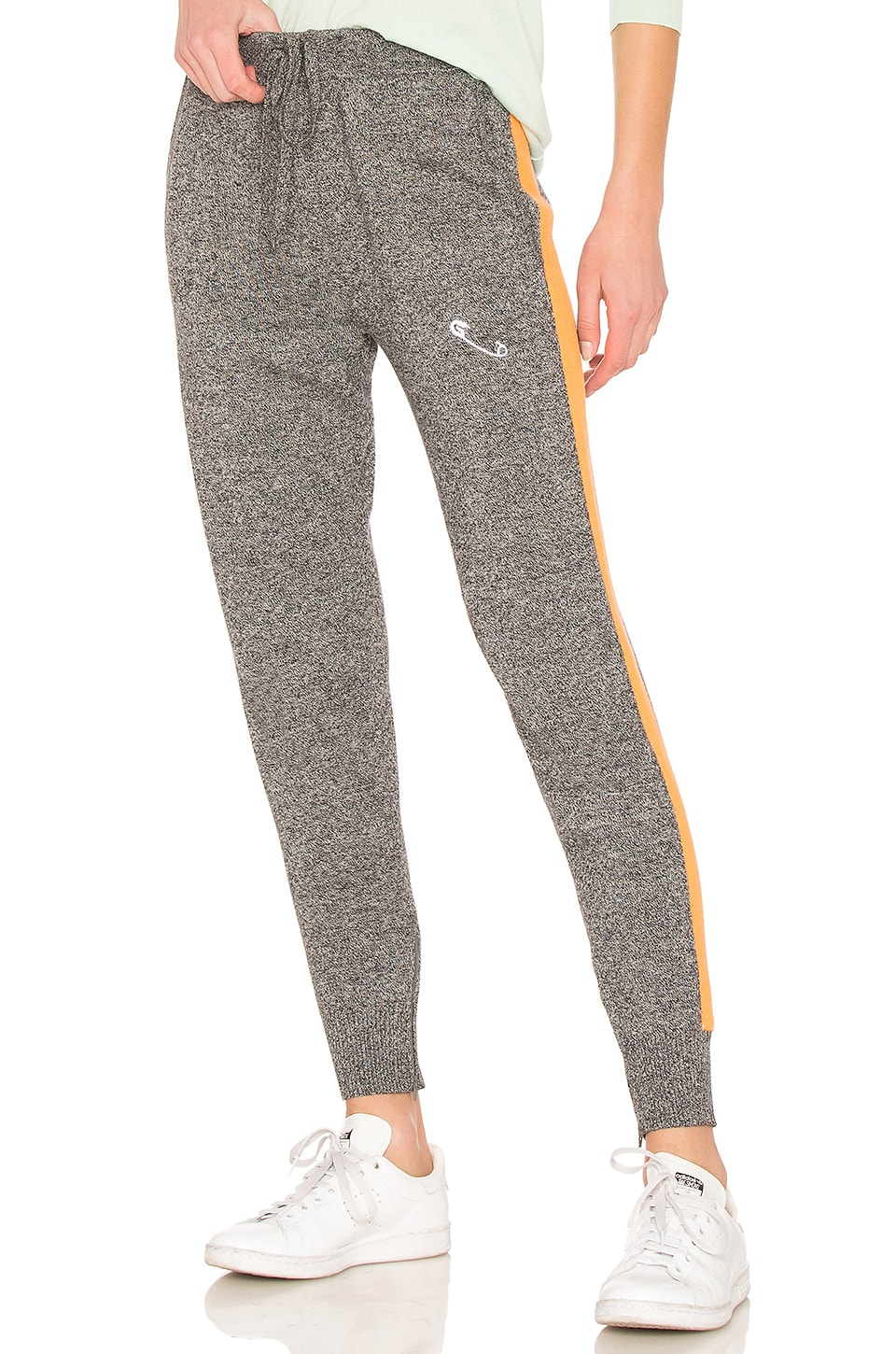 Safety Pin Embroidery Sweatpant