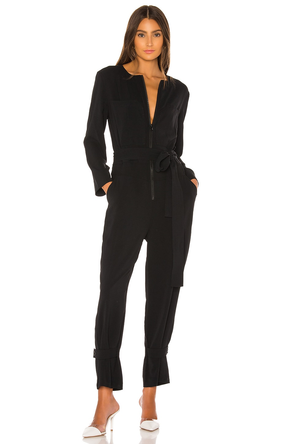 Rebecca Minkoff Clover Jumpsuit in Black