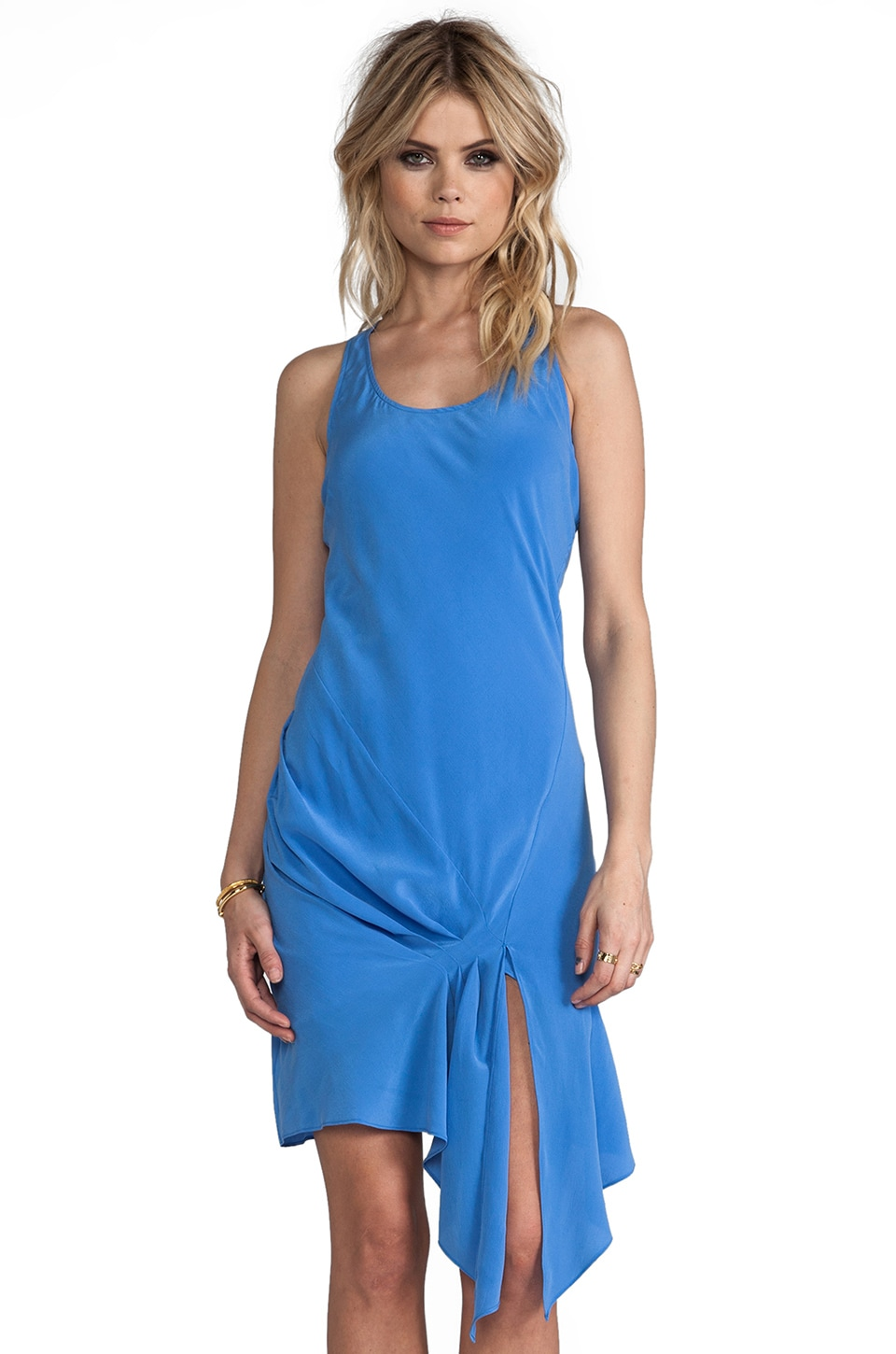 Rebecca Minkoff Topez Dress in Flax