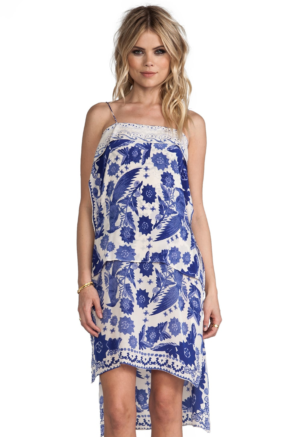 Rebecca Minkoff Yuko Dress in Indigo Blue