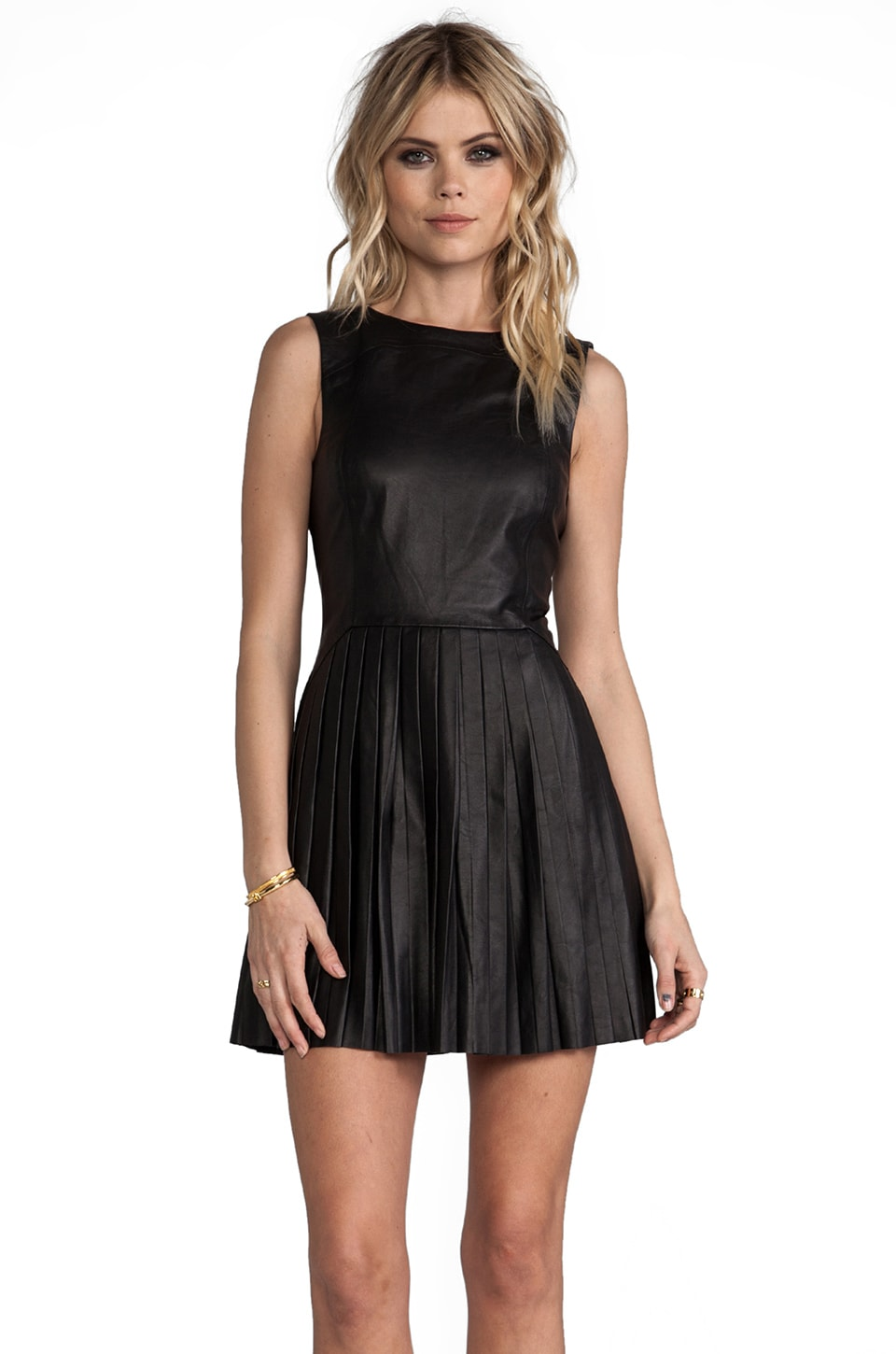 Rebecca Minkoff Sleeveless Navigator Dress in Black