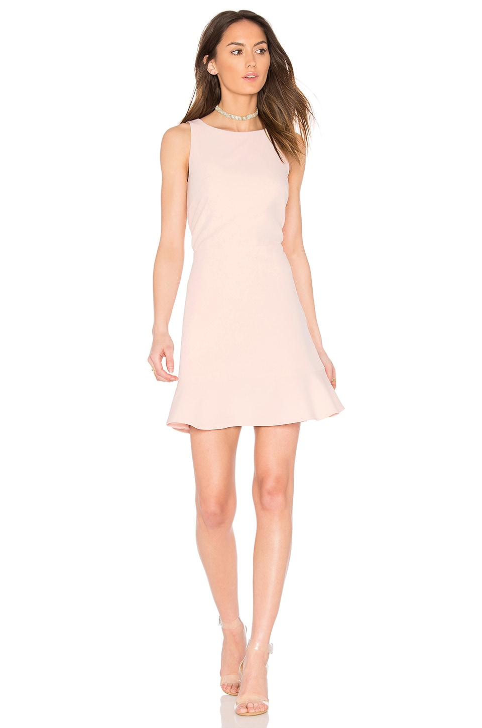 Rebecca Minkoff Tiffani Dress in Pink Sand