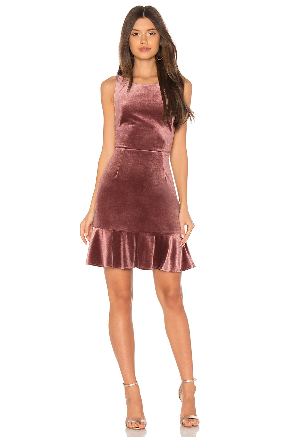 Rebecca Minkoff Tiffany Dress in Mauve