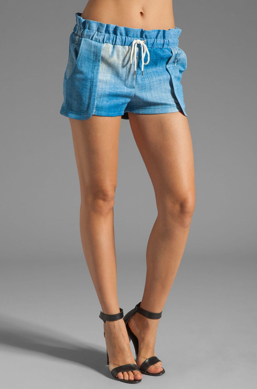 Rebecca Minkoff Mika Shorts in Indigo