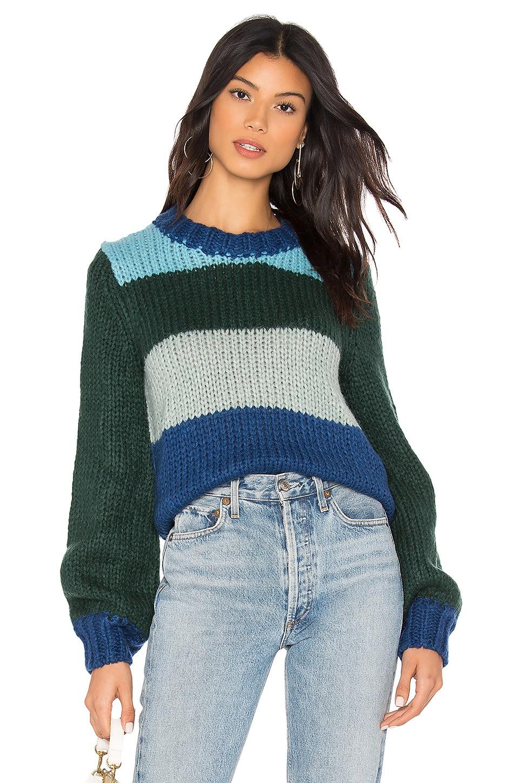 Rebecca Minkoff Jewel Sweater in Blue Multi
