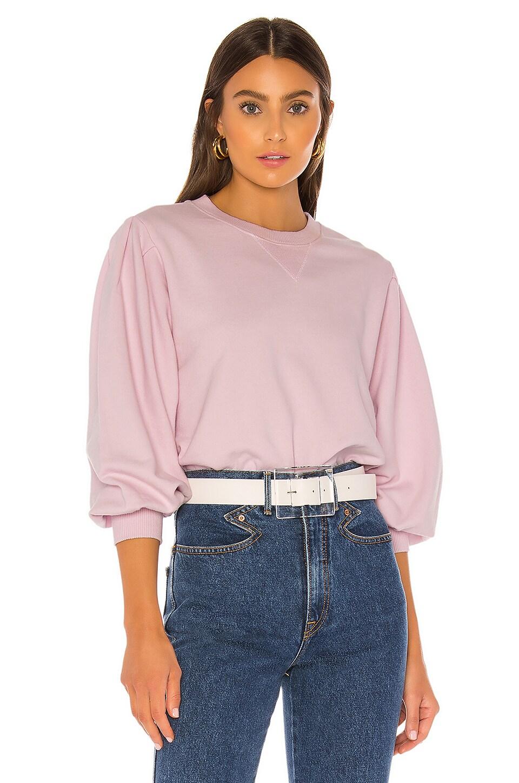 Rebecca Minkoff Scarlette Sweatshirt in Pink