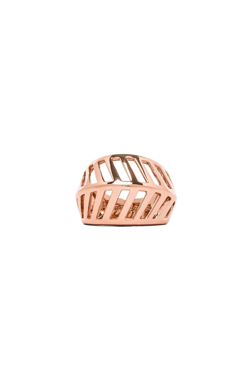Rebecca Minkoff Grill Ring in Rose Gold