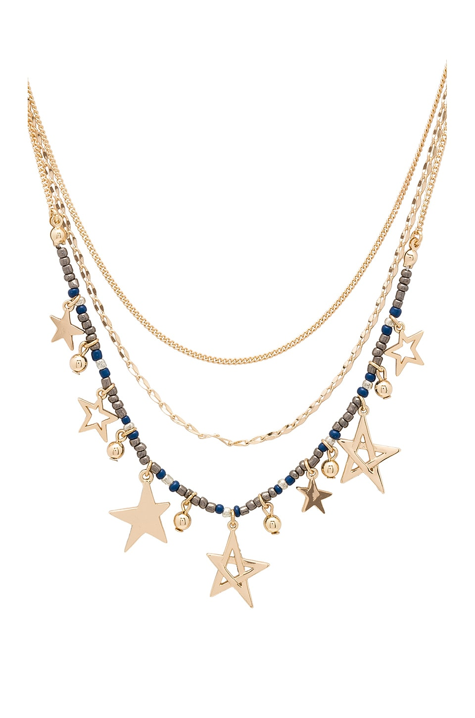 Multi Star Delicate Necklace