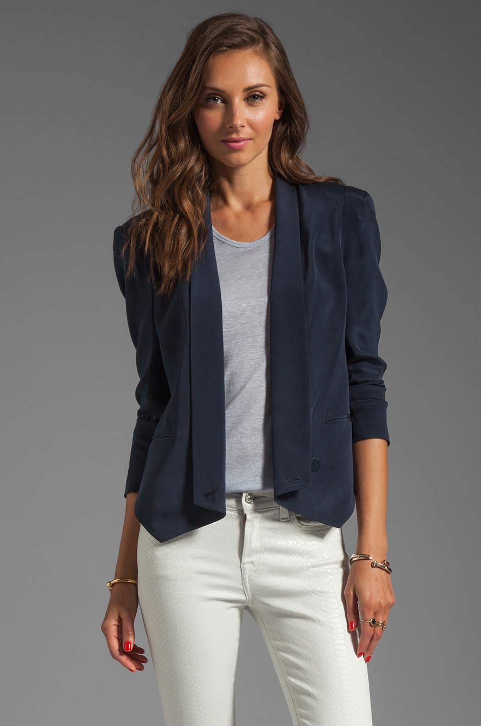 Rebecca Minkoff Becky Jacket in True Navy