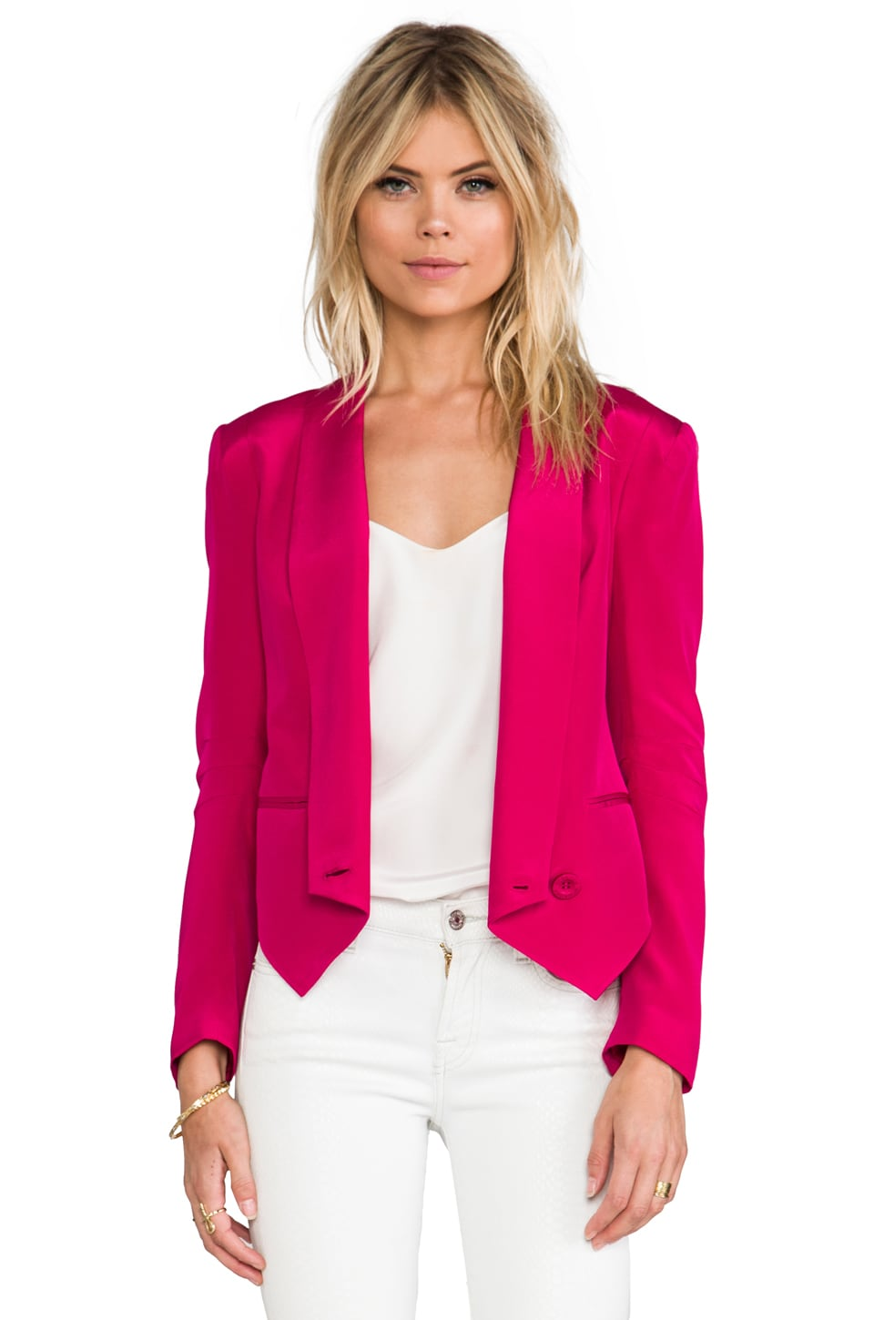 Rebecca Minkoff Becky Jacket in Cerise