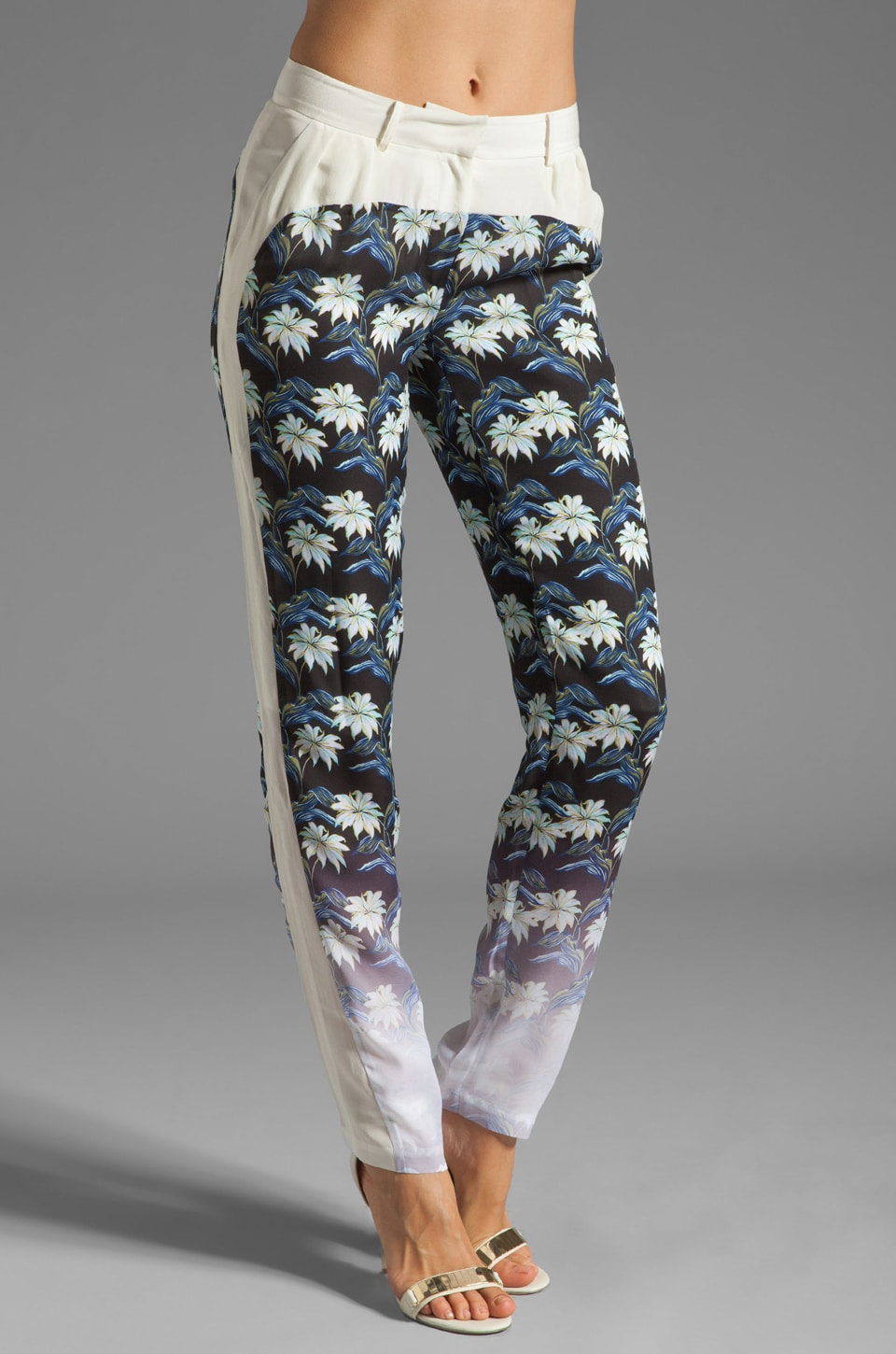 Rebecca Minkoff Rio Pants in Black Multi