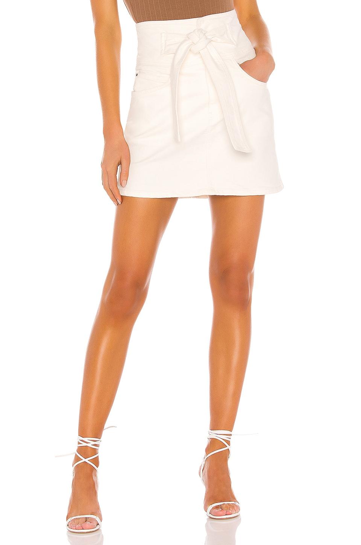 Rebecca Minkoff Callie Skirt in Ecru