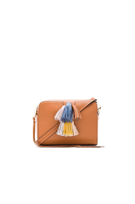 Rebecca Minkoff Mini Sofia Crossbody Bag in Almond Multi