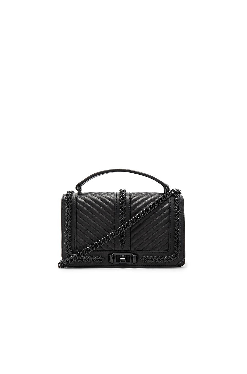 Rebecca Minkoff Love Crossbody Bag in Black