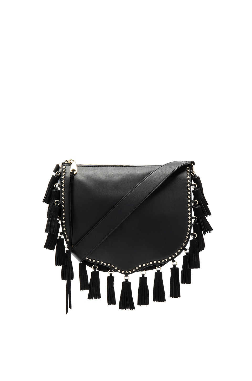 Large Multi Tassel Saddle Bag by Rebecca Minkoff