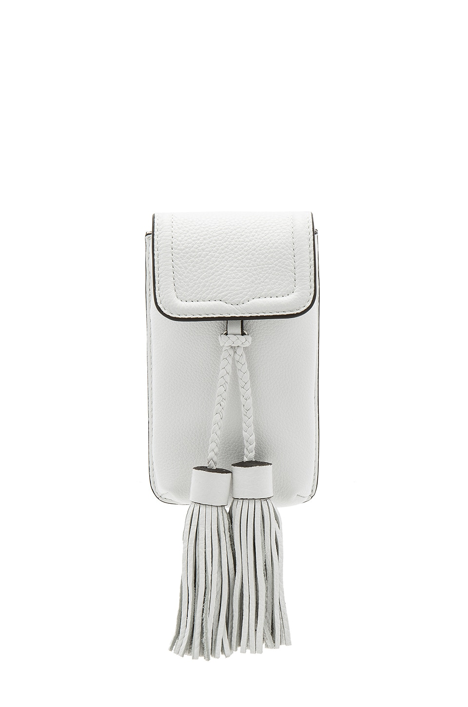 Rebecca Minkoff Isobel Phone Crossbody in Optic White