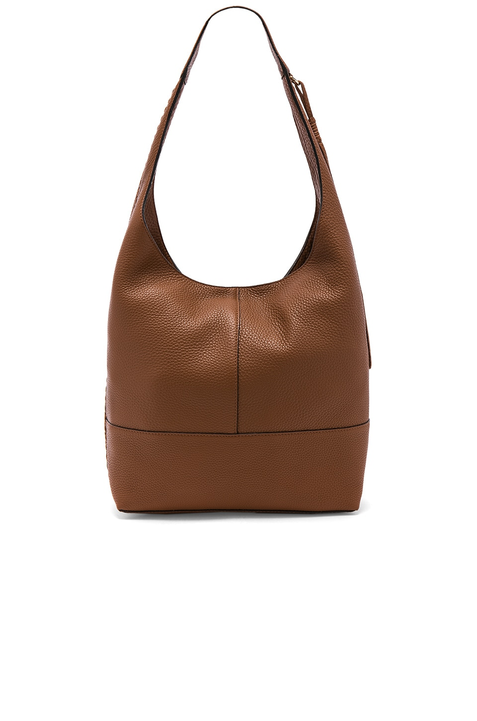Unlined Slouchy Hobo With Whipstitch by Rebecca Minkoff