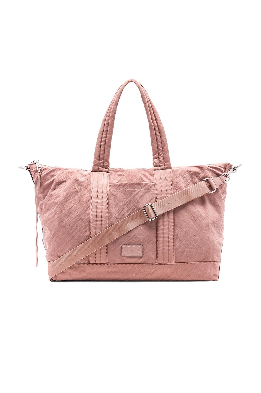 Washed Nylon Weekend Bag