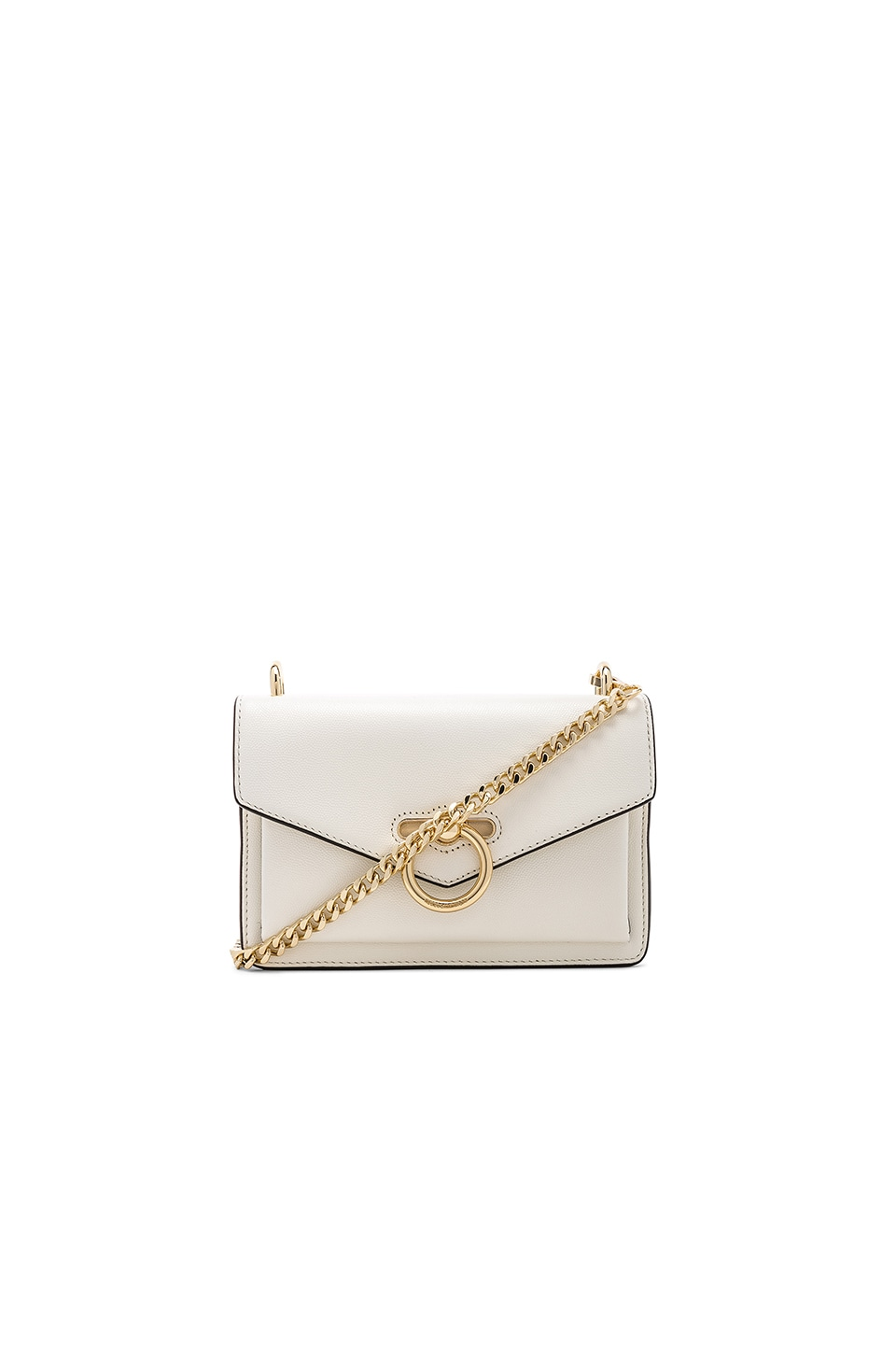Rebecca Minkoff Jean Crossbody Bag in Optic White