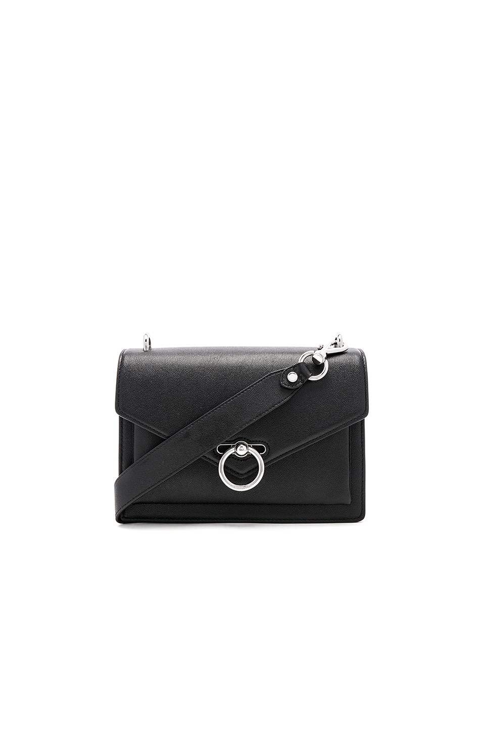 Rebecca Minkoff Jean Medium Shoulder Bag in Black
