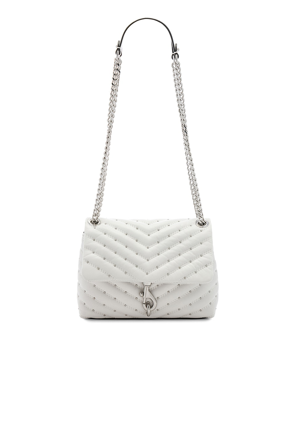Rebecca Minkoff Edie Crossbody in Optic White