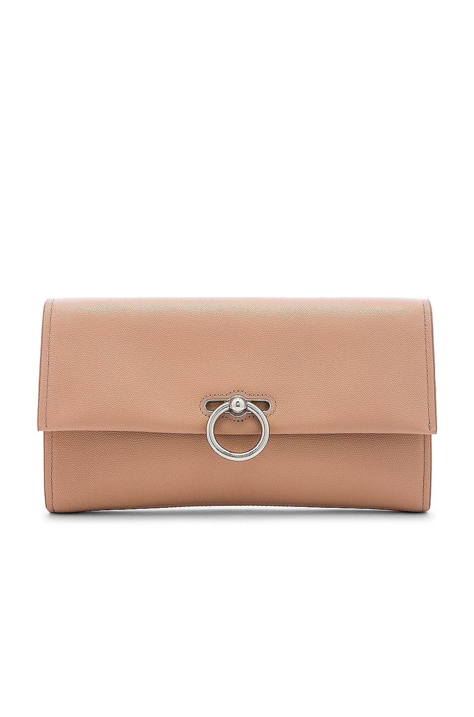 Rebecca Minkoff Jean Clutch in Doe