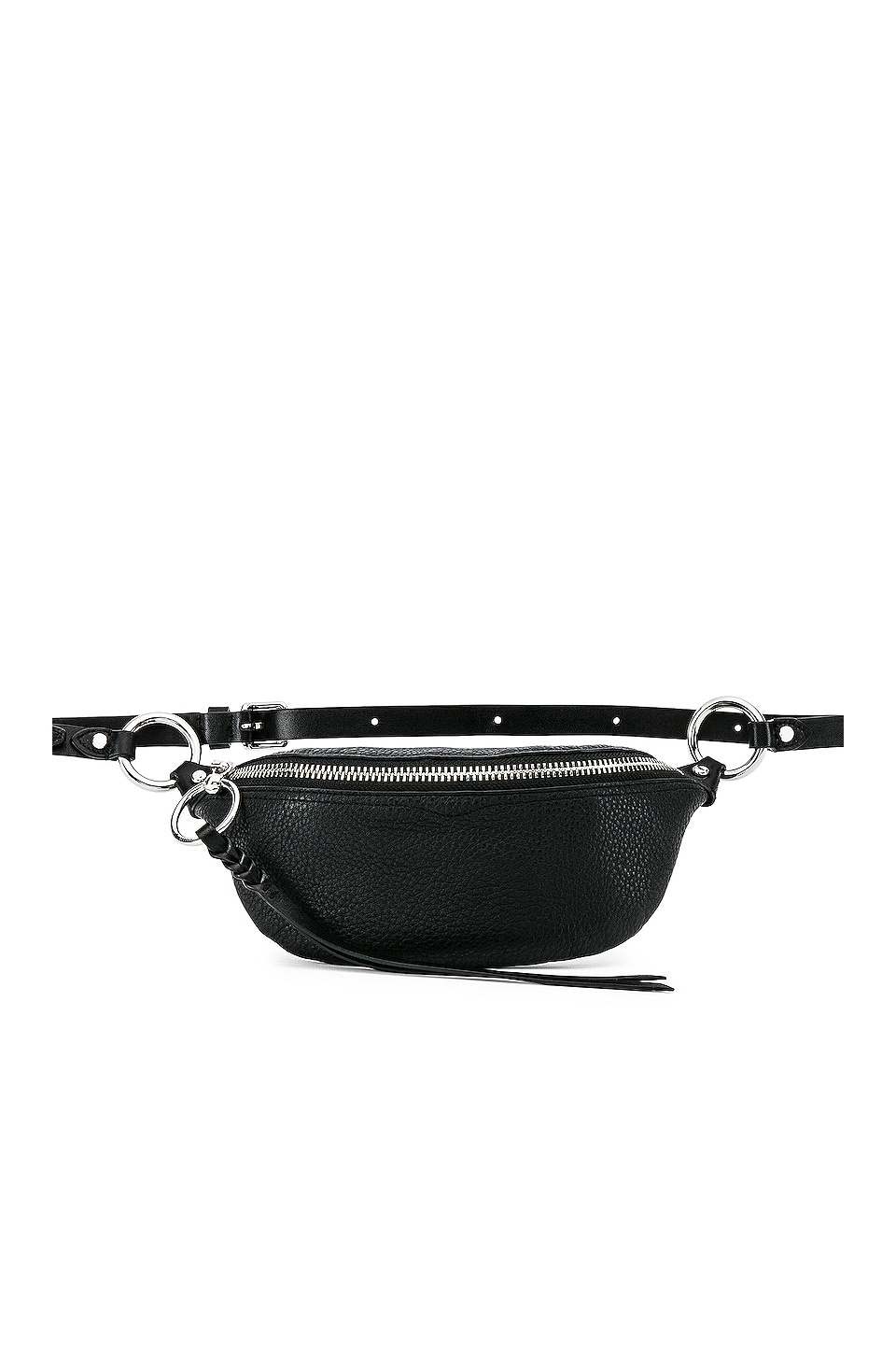 Rebecca Minkoff Bree Mini Belt Bag in Black