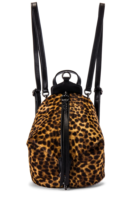 Rebecca Minkoff Convertible Mini Julian Backpack in Natural