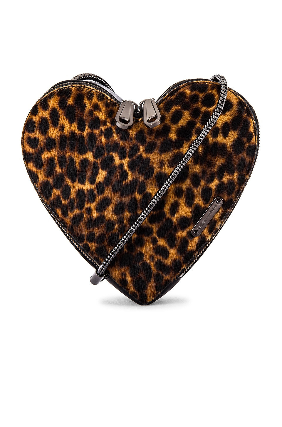 Rebecca Minkoff Heart Crossbody in Natural