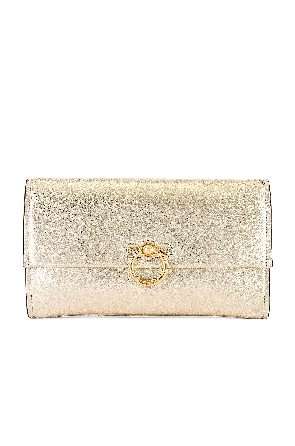 Rebecca Minkoff Jean Convertible Clutch in Champagne