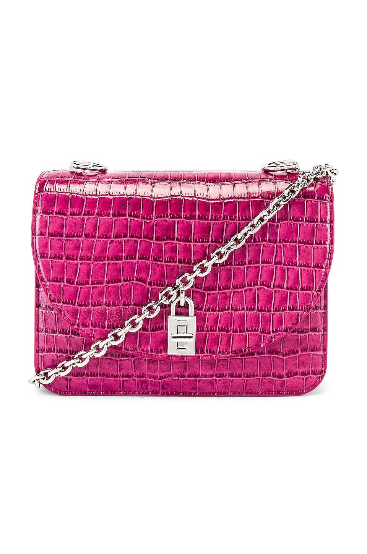 Rebecca Minkoff Love Too Shoulder Bag in Dark Raspberry