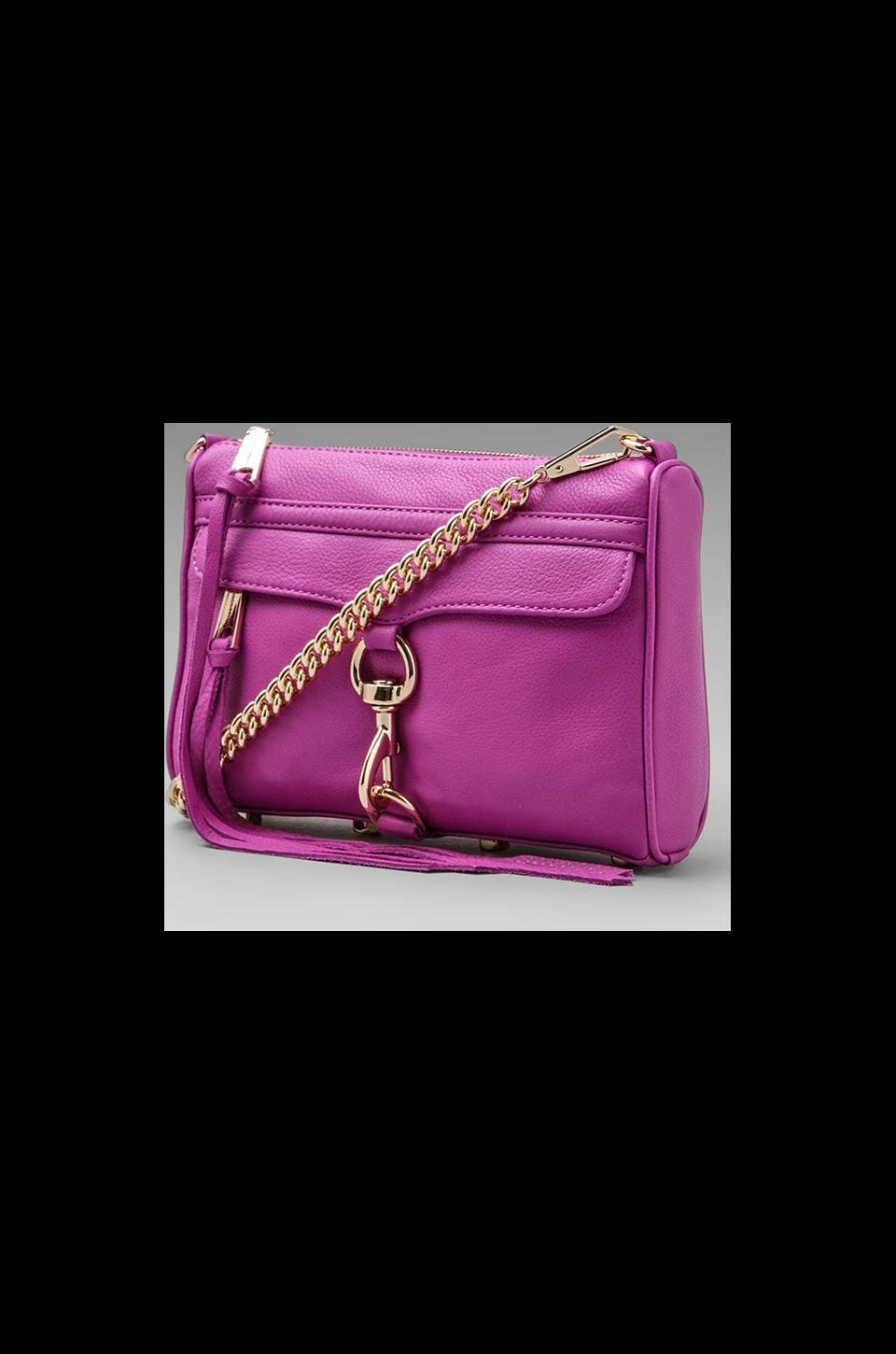 Rebecca Minkoff Mini Mac in Purple