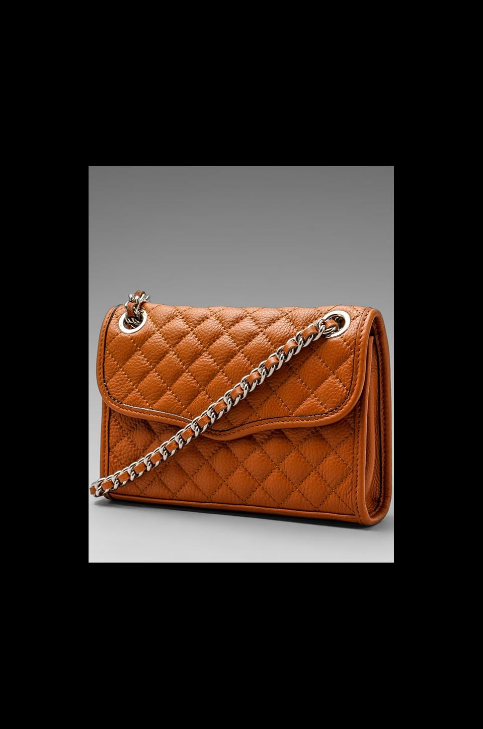 Rebecca Minkoff Diamond Quilt Mini Affair in Almond