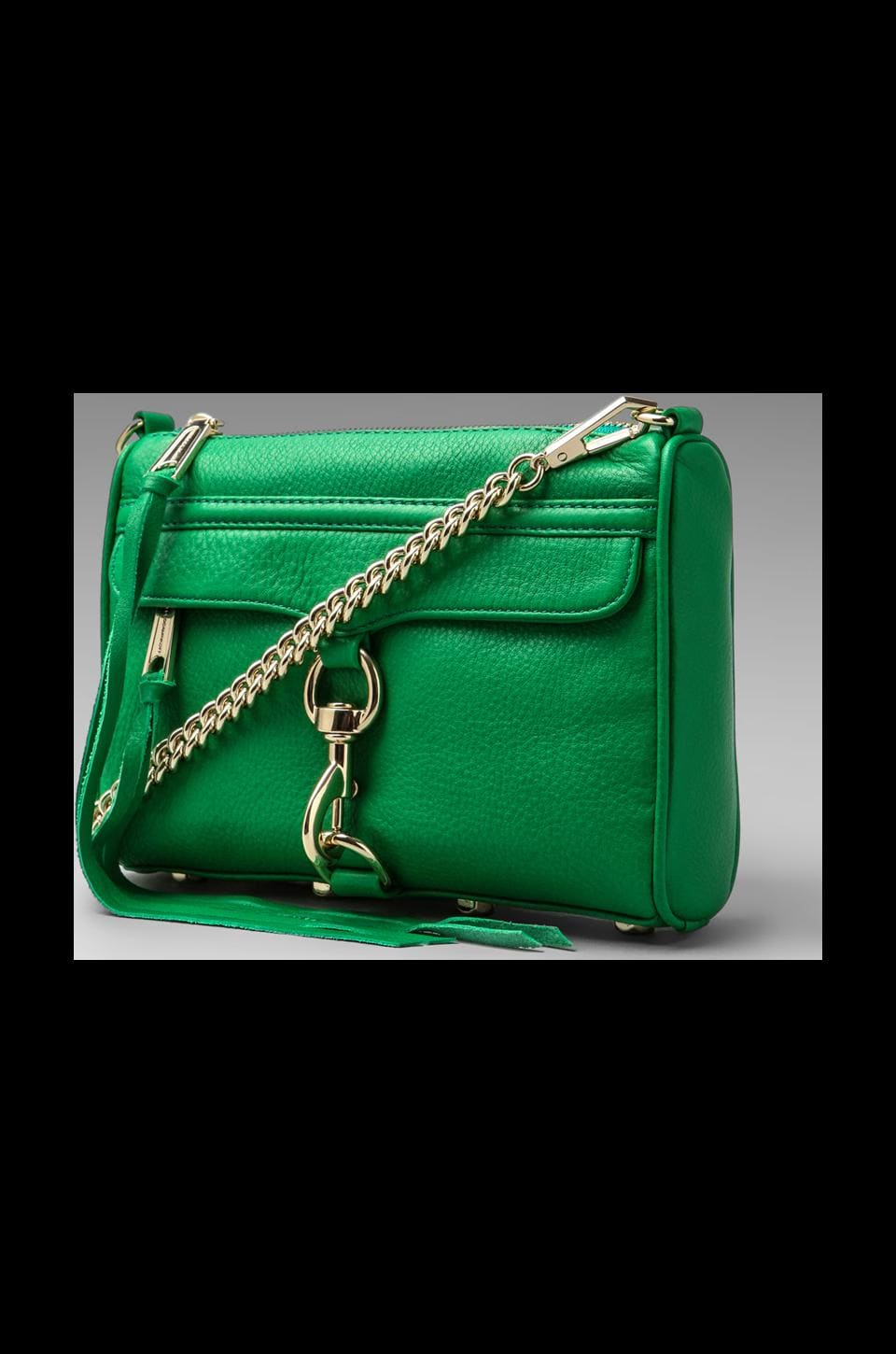 Rebecca Minkoff Mini Mac in Jungle Green