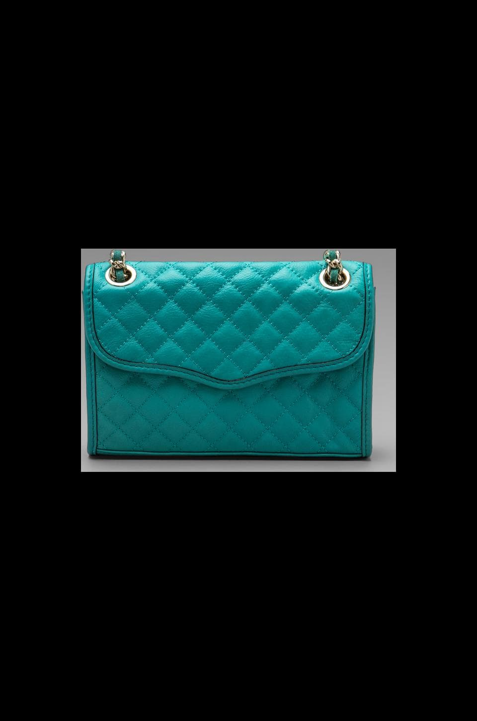 Rebecca Minkoff Diamond Quilt Mini Affair in Sea Green