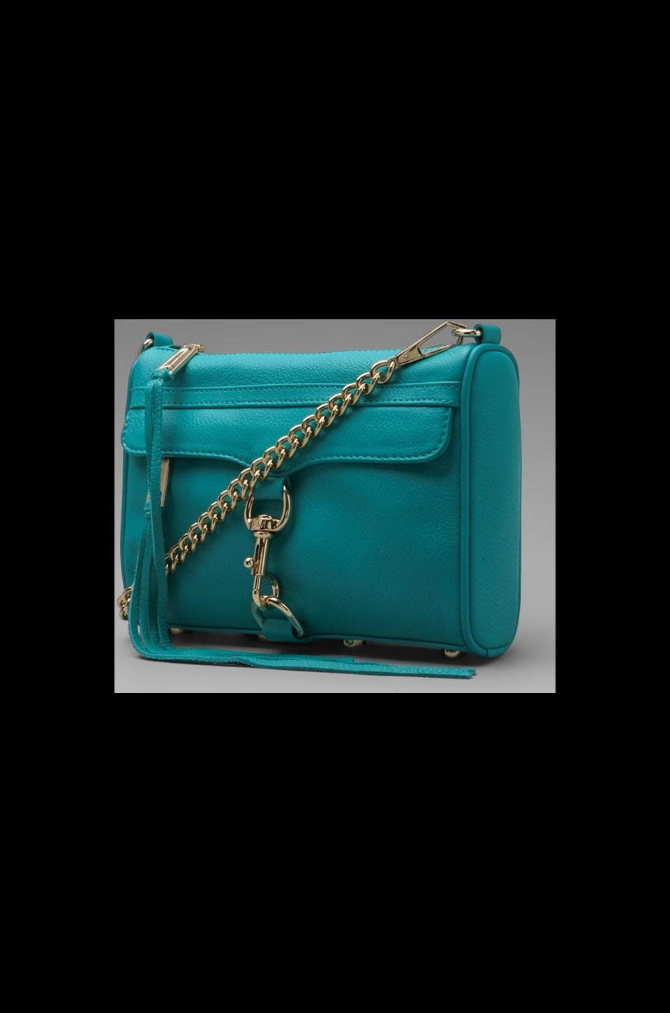 Rebecca Minkoff Mini MAC in Sea Green