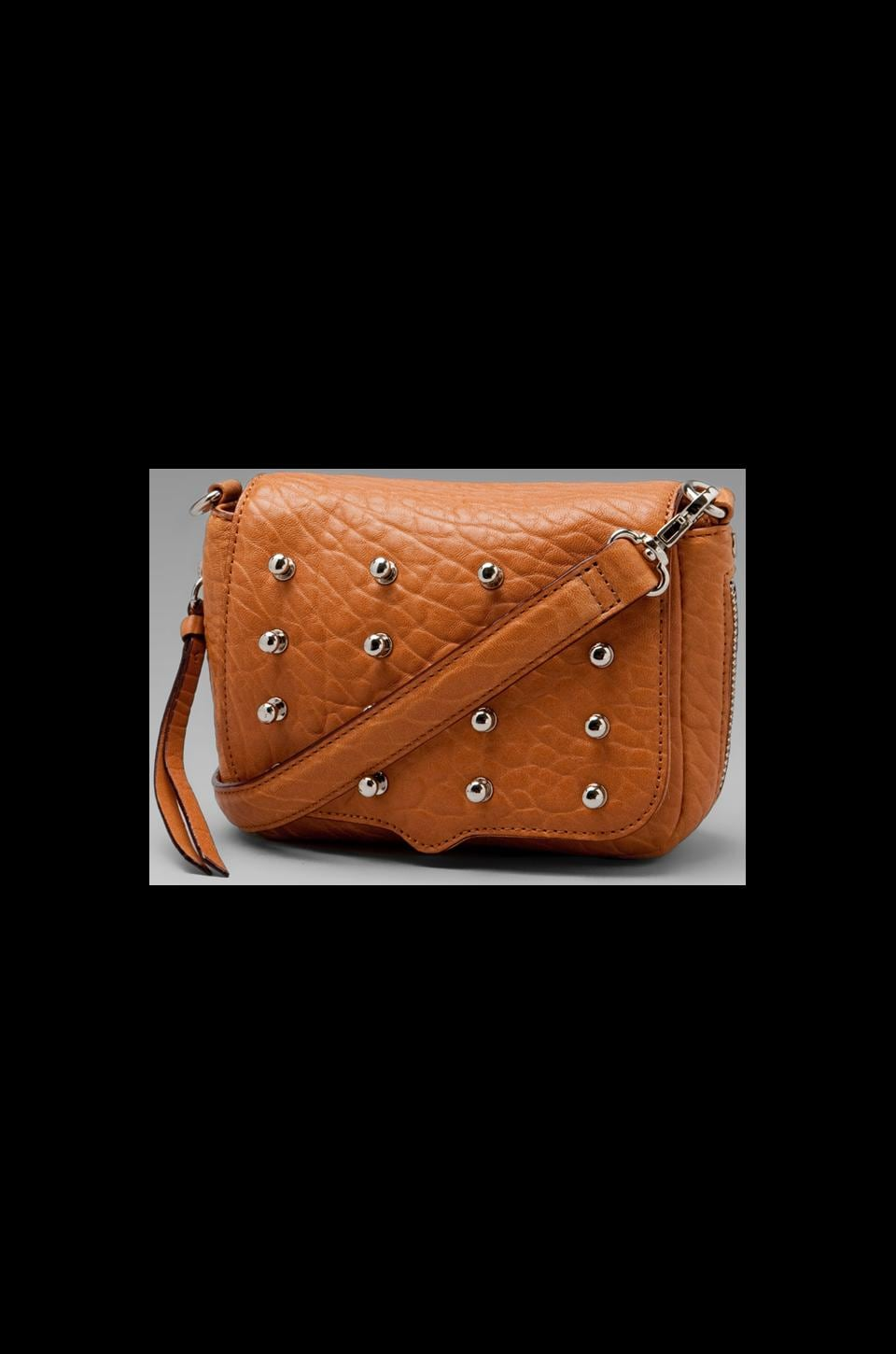 Rebecca Minkoff Connor Mini Clutch in Almond