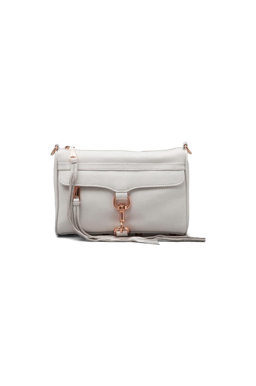 Rebecca Minkoff Mini MAC Clutch in White